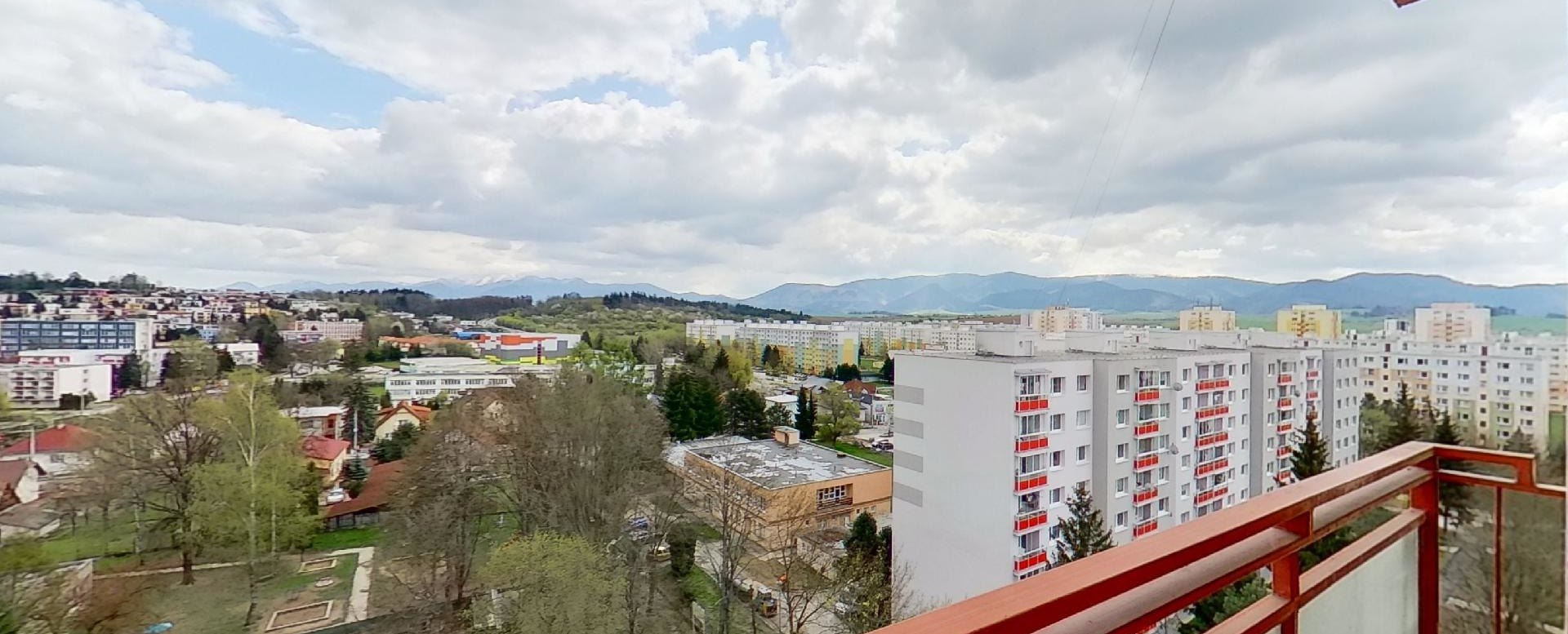 Pohľad z balkóna