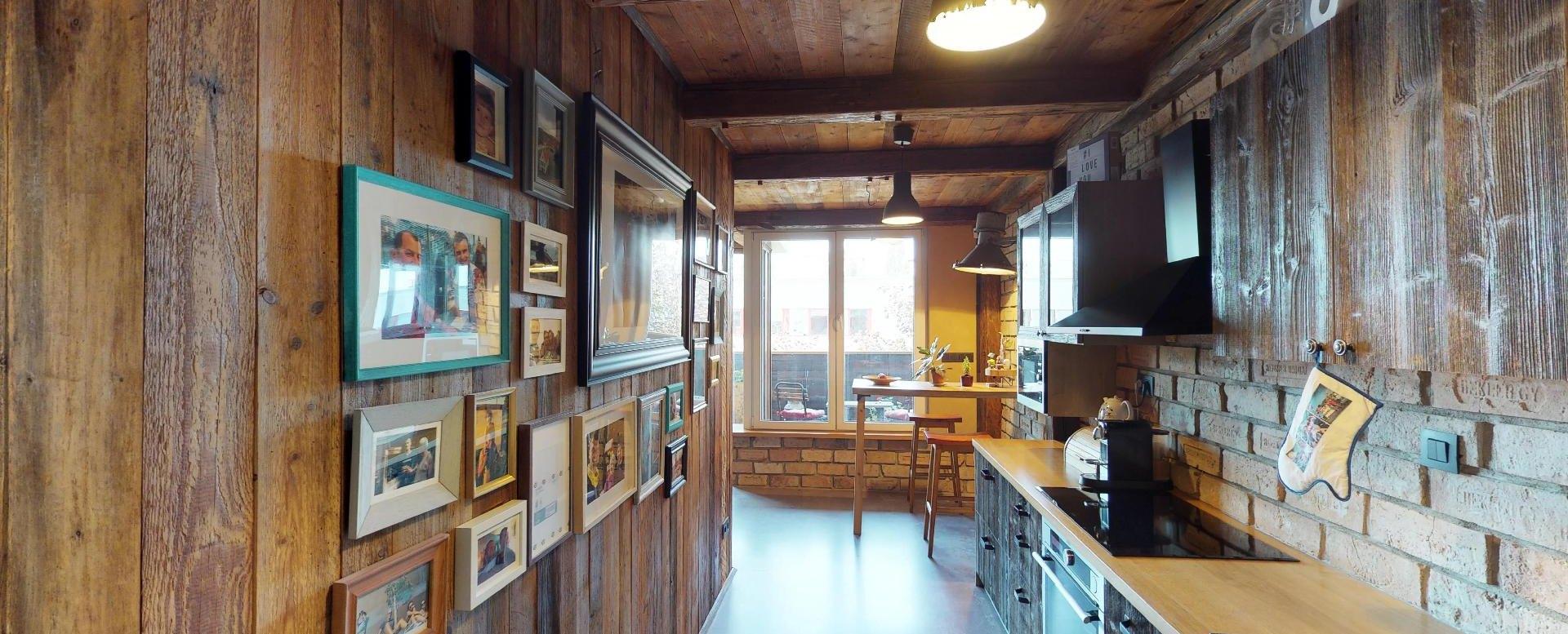 Kuchyňa v byte na Dieňovej ulici