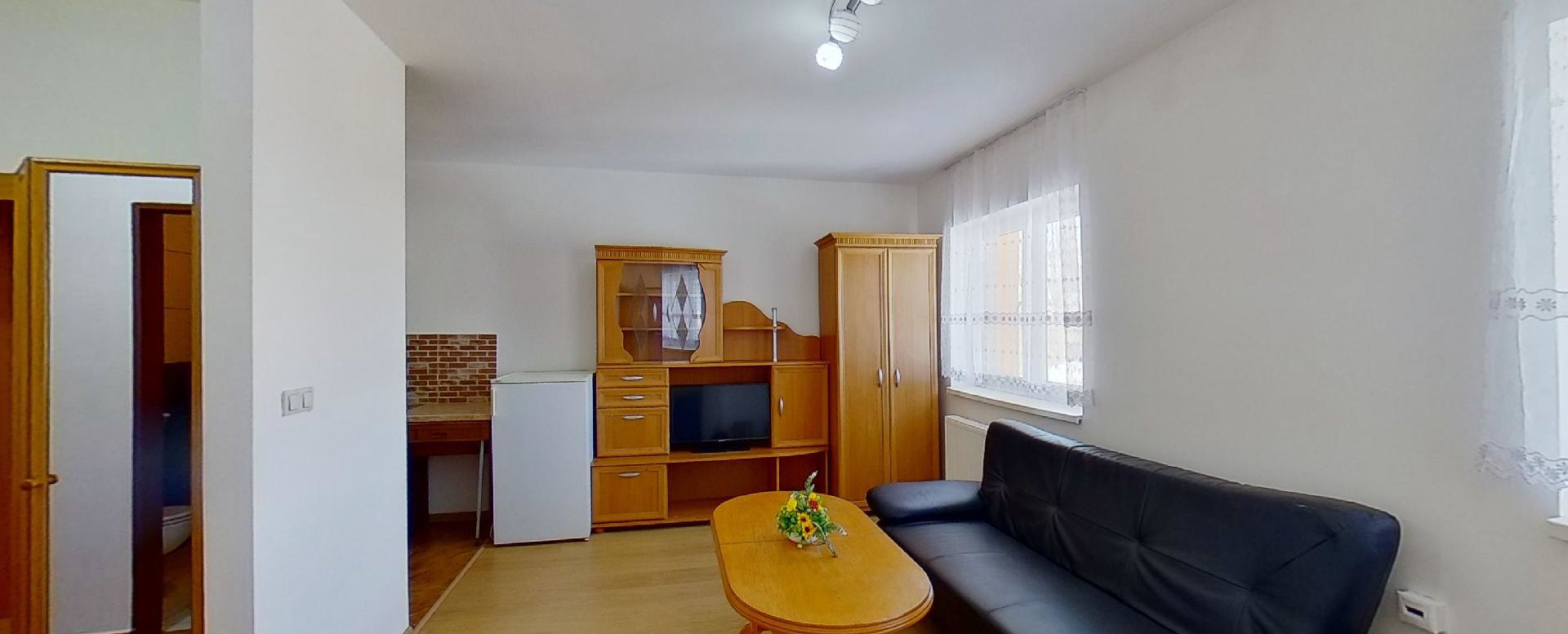obývacia izba so sedacou súpravou