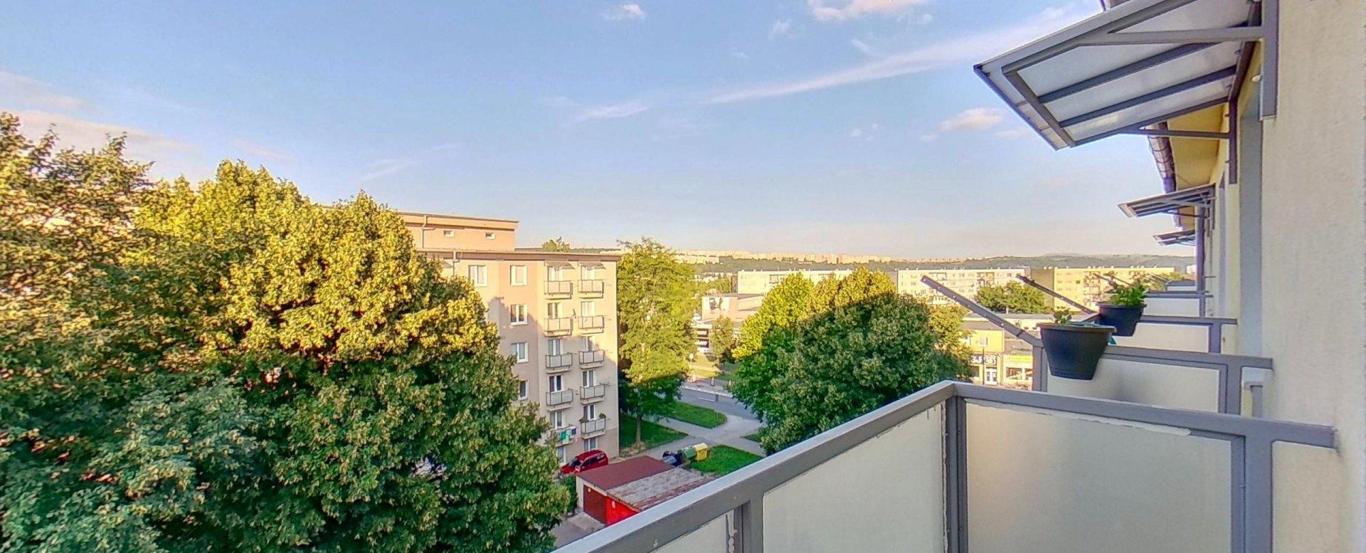 Výhľad z balkóna 3