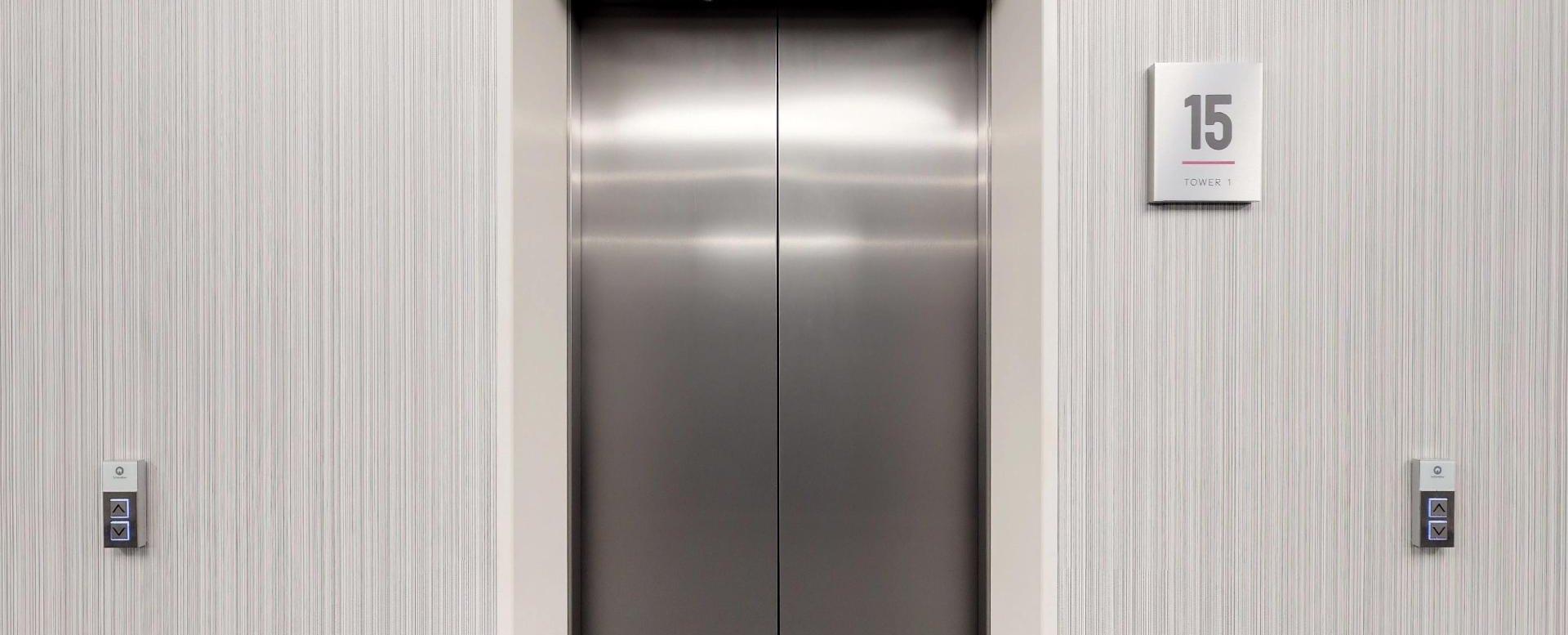 Výťah na 15. poschodí  Panorama Towers - Eurovea City