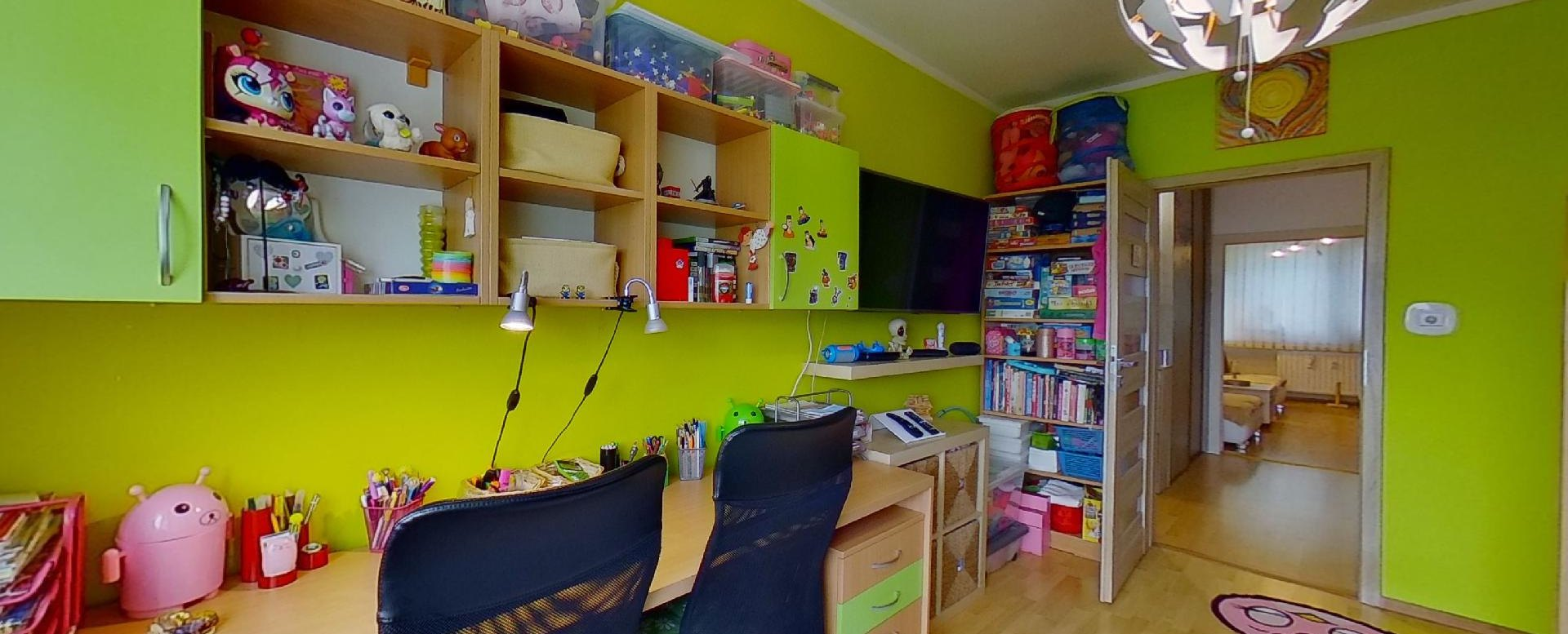 Detská izba pohľad 2