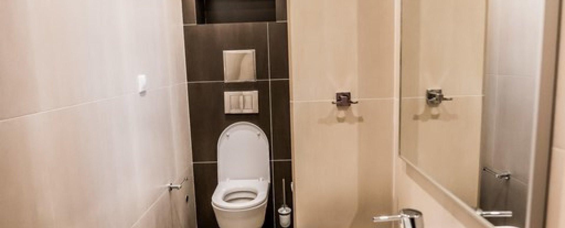 Toaleta (WC) v 3-izbovom byte na Botovej v Žiline