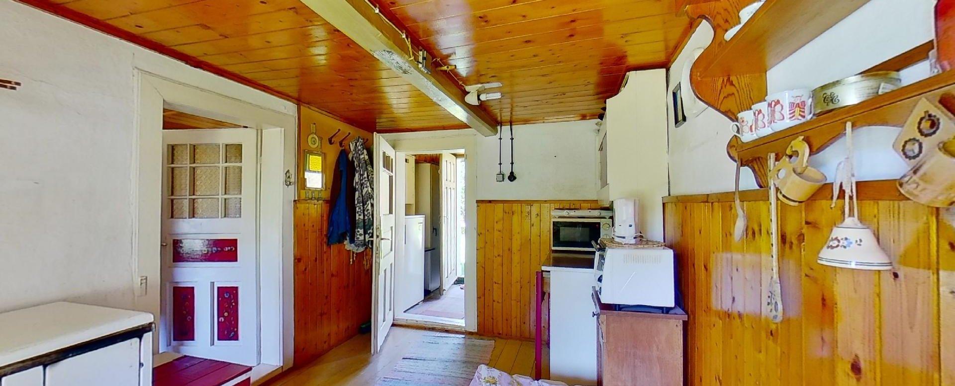 Pohľad do kuchyne na chalupe