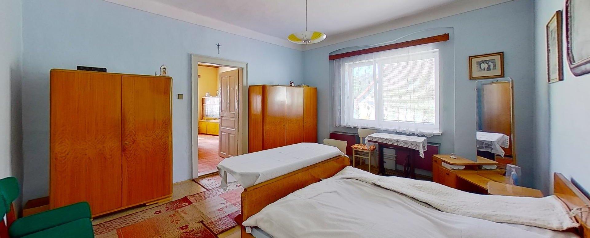 Priestranná spálňa