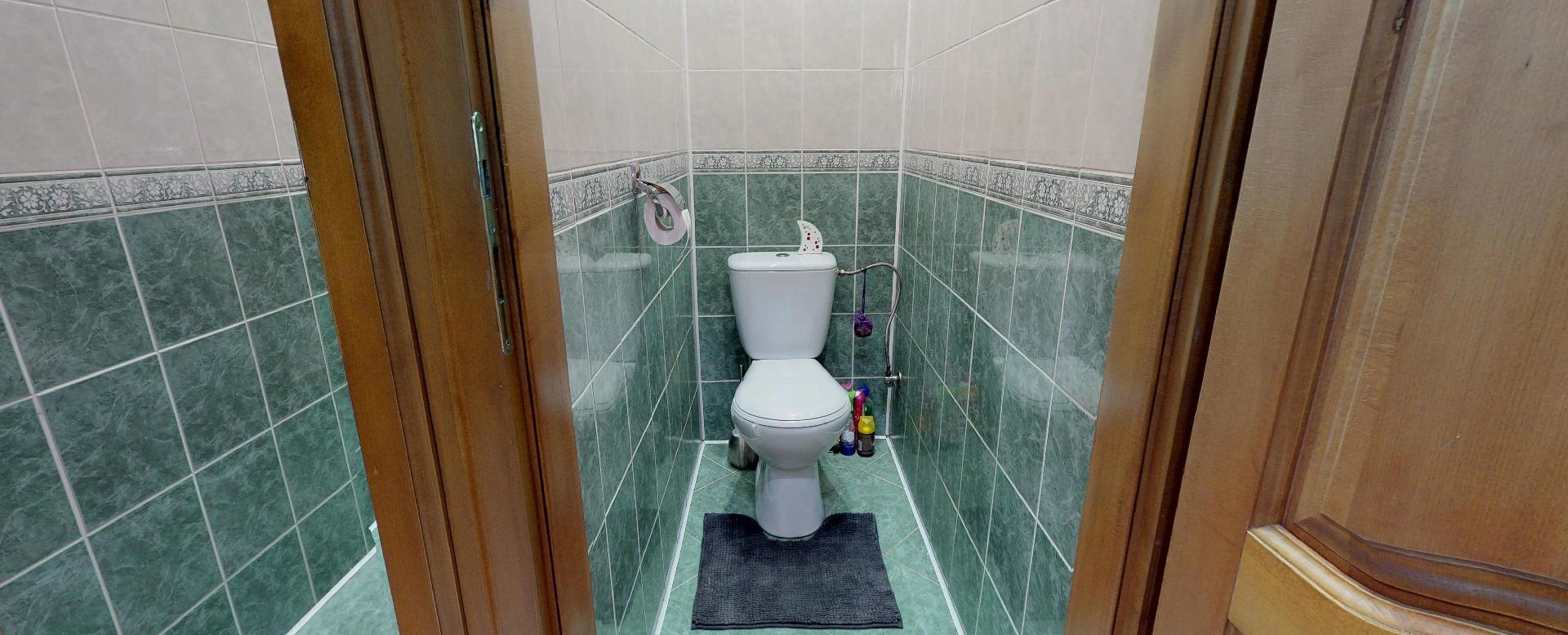 Pohľad na toaletu