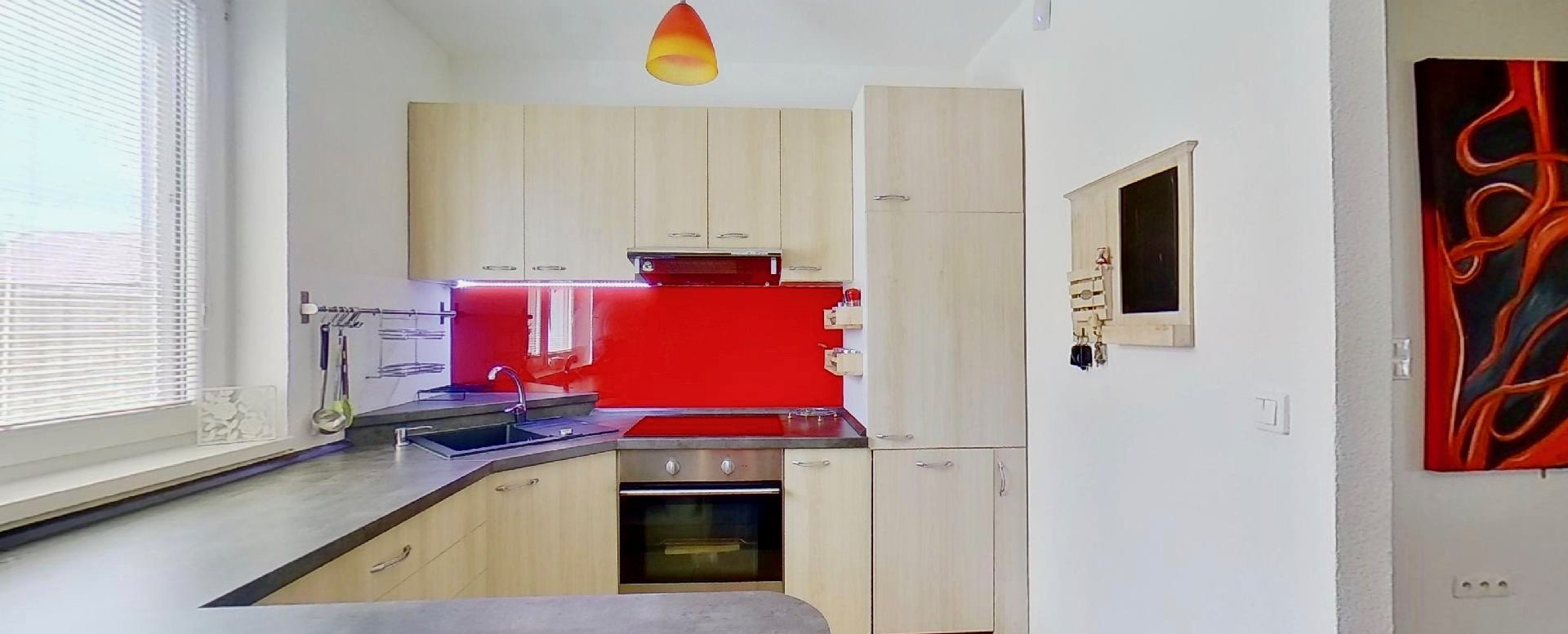 pohľad do kuchyne