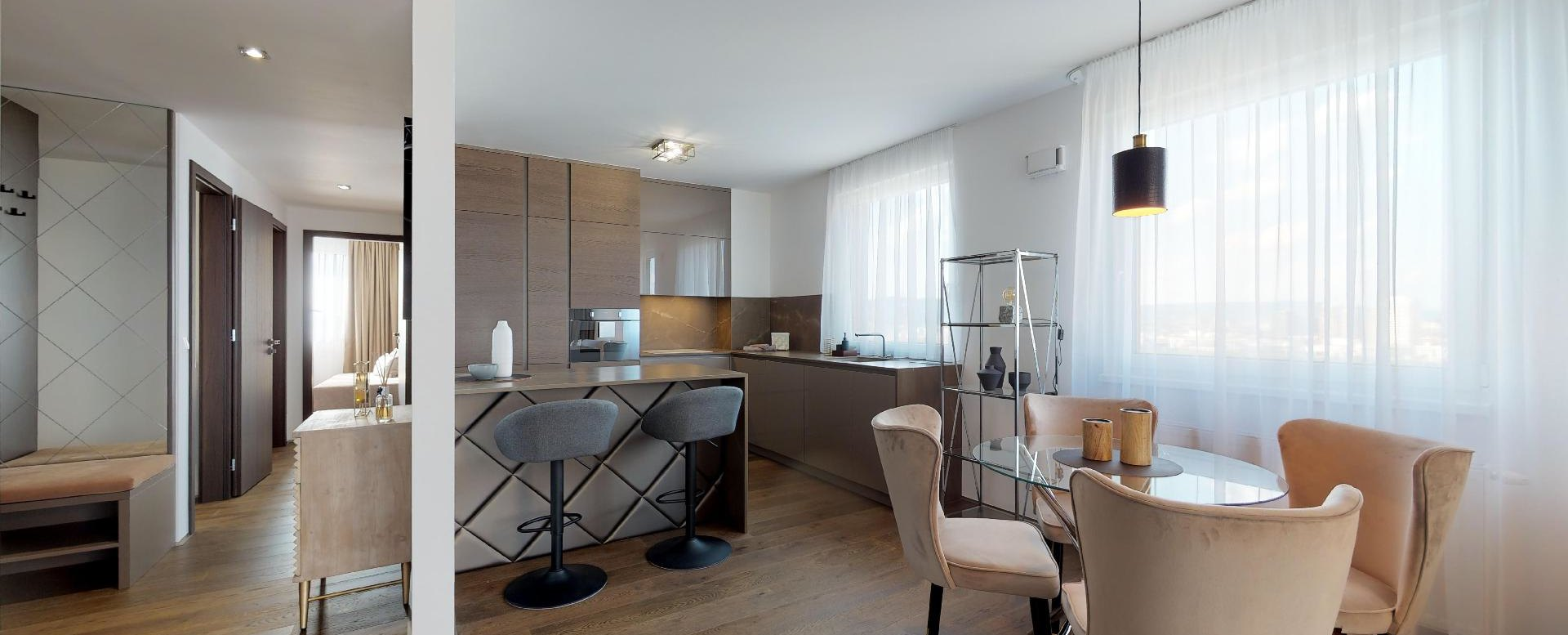 jedáleň a kuchyňa