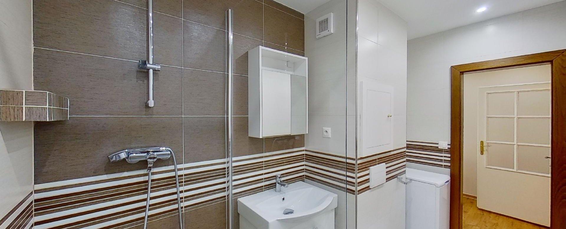 Moderná kúpeľňa v 2-izbovomy byte na Jašíkovej v Čadci