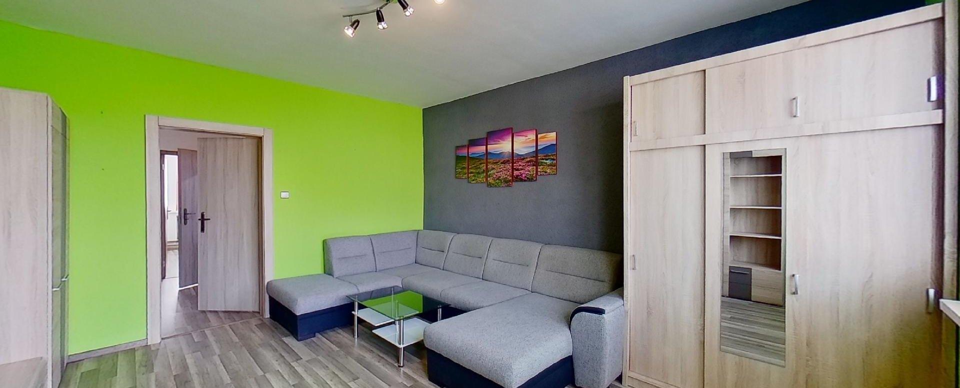 Priestranná obývacia izba