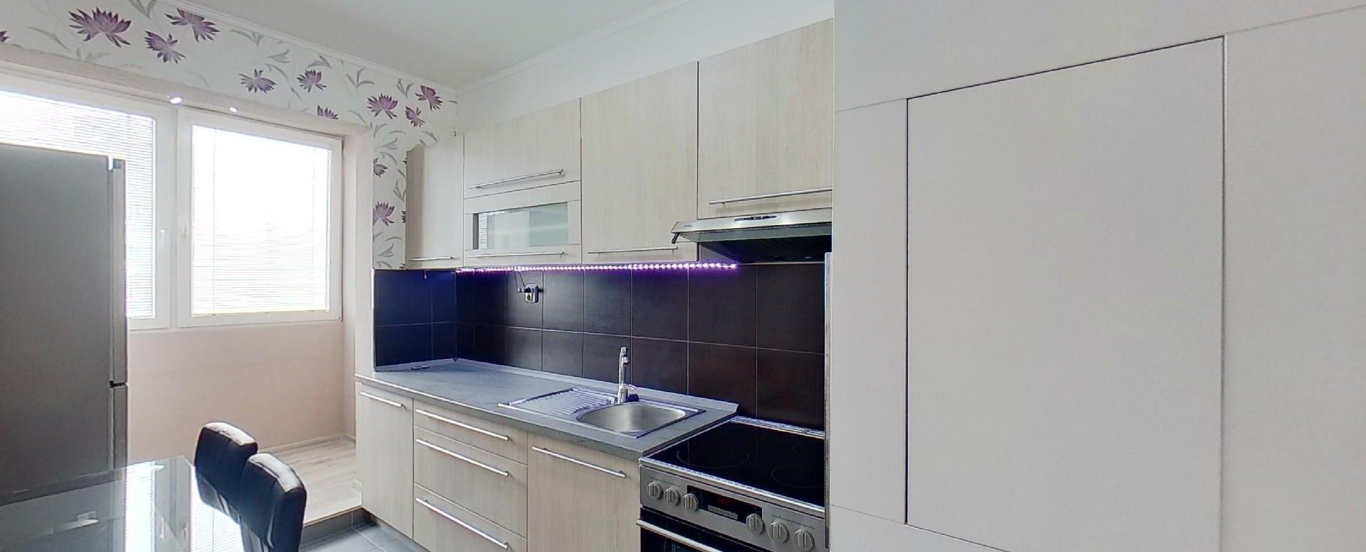 Kuchyňa s lodžiou