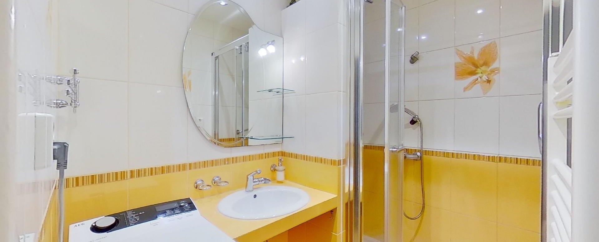 Práčka v kúpeľni