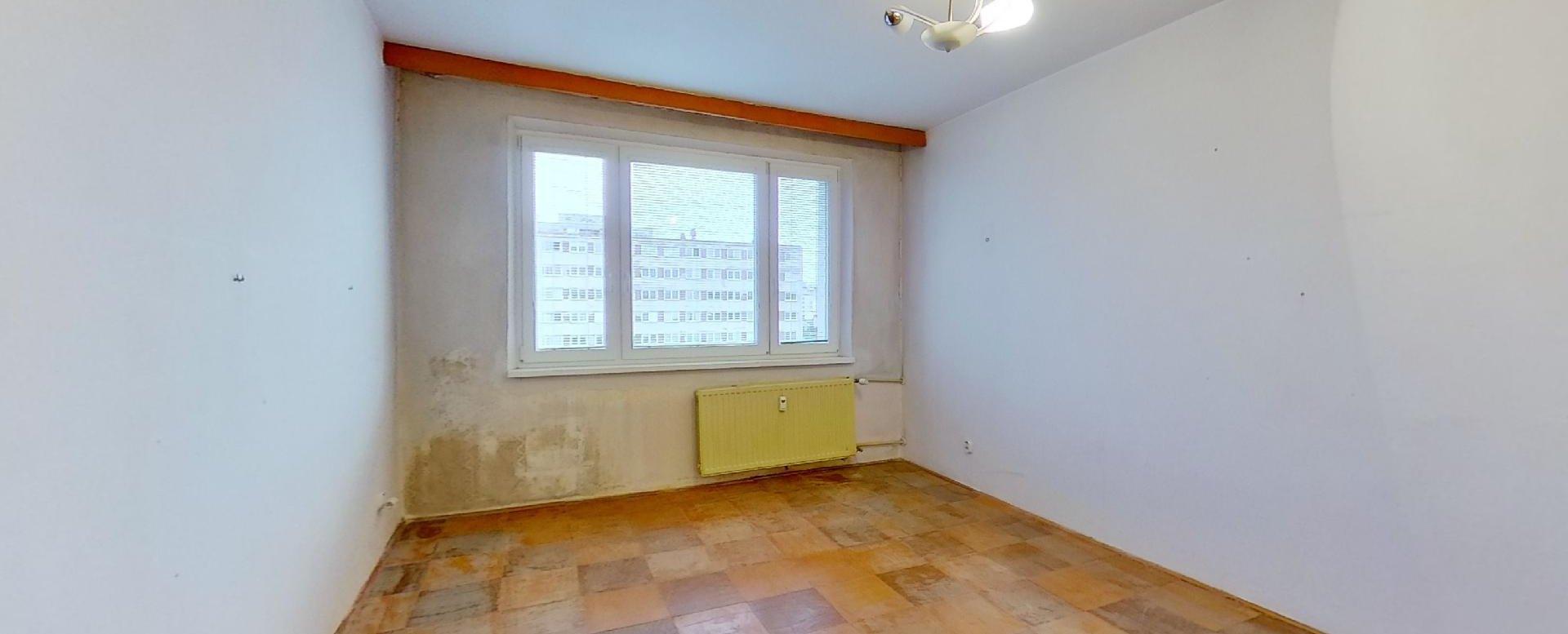Izba v 3-izbovom byte na Pražskej ulici v Košiciach