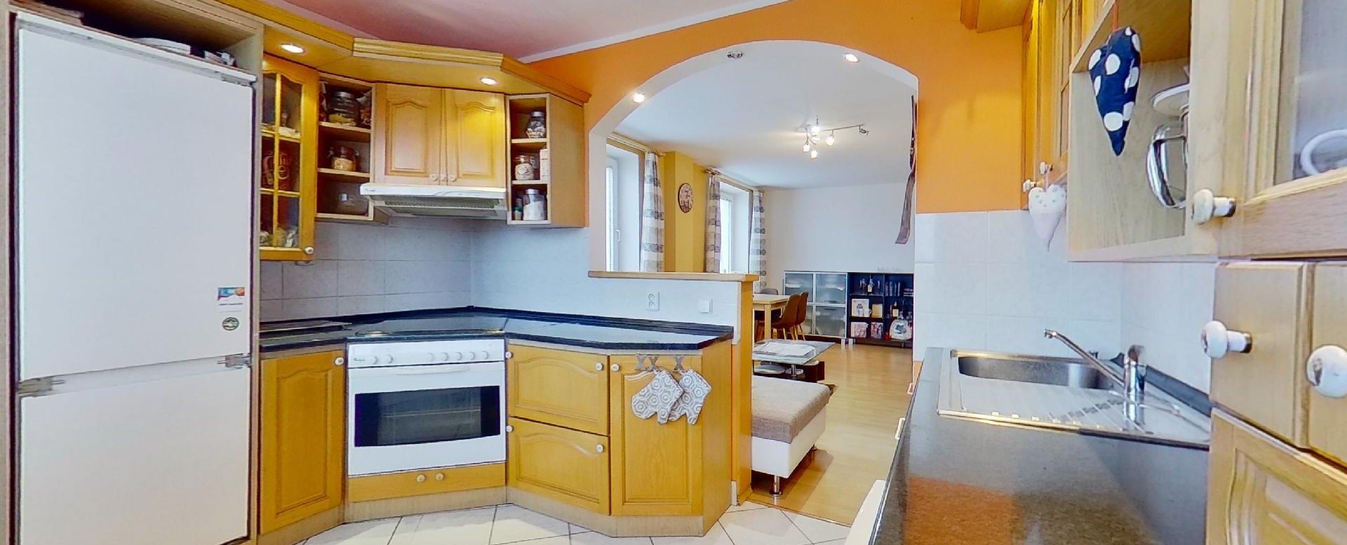 pohľad z kuchyne