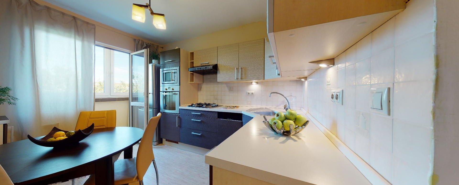 Kuchyňa v byte vstup