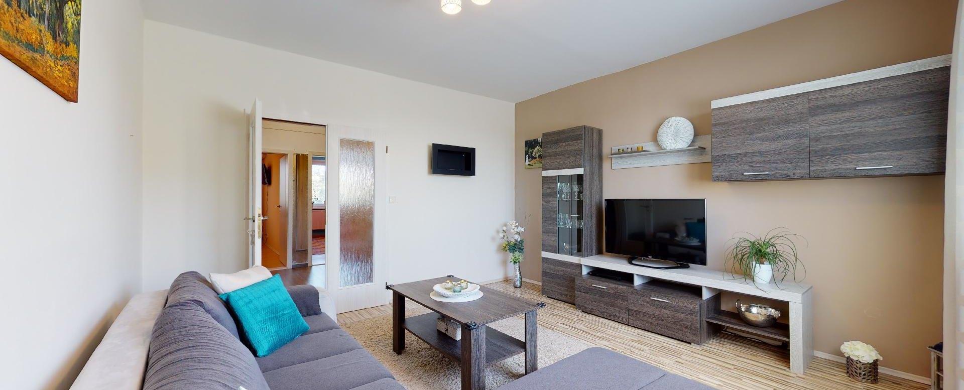 Obývacia izba pohľad