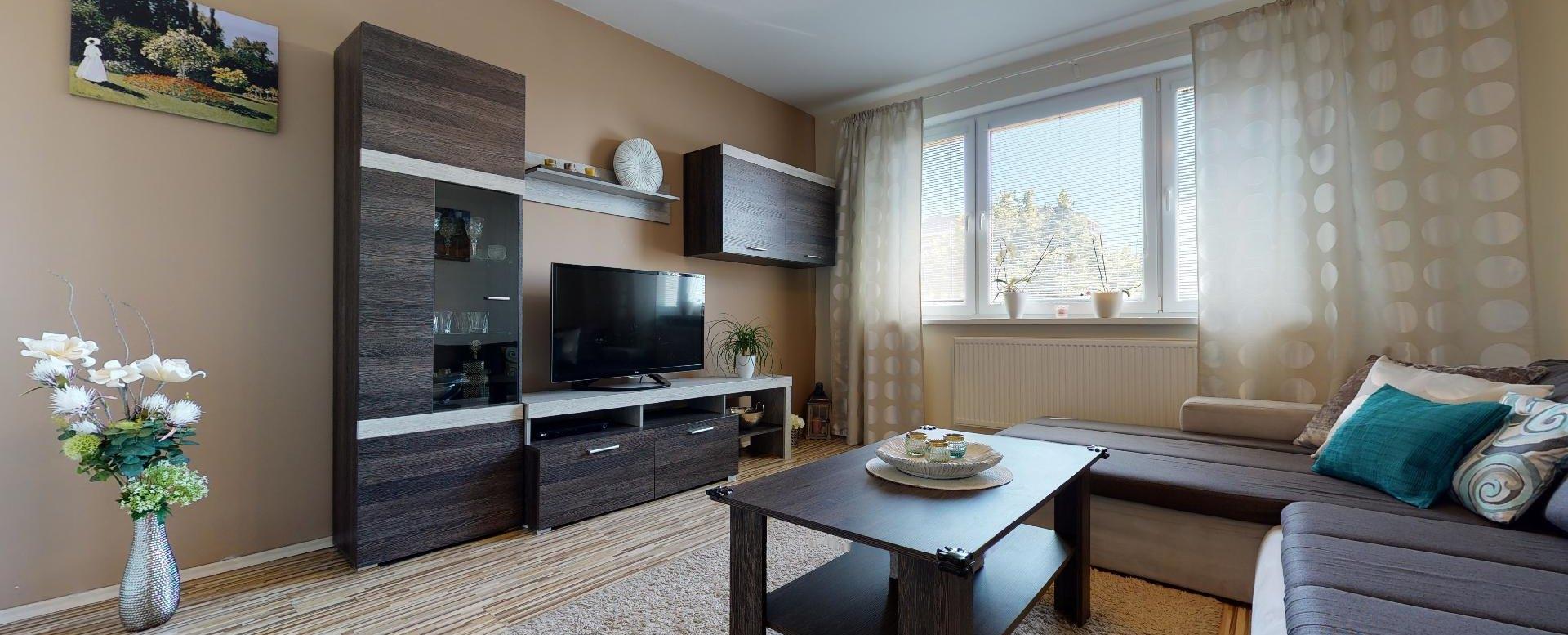 Obývacia izba s obývaciou zostavou