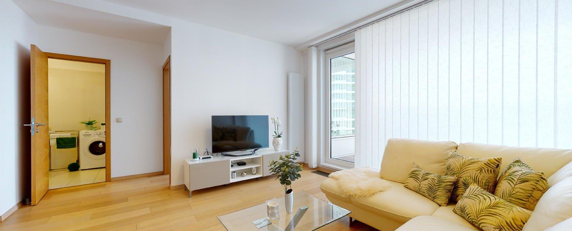 TV v obývacej izbe