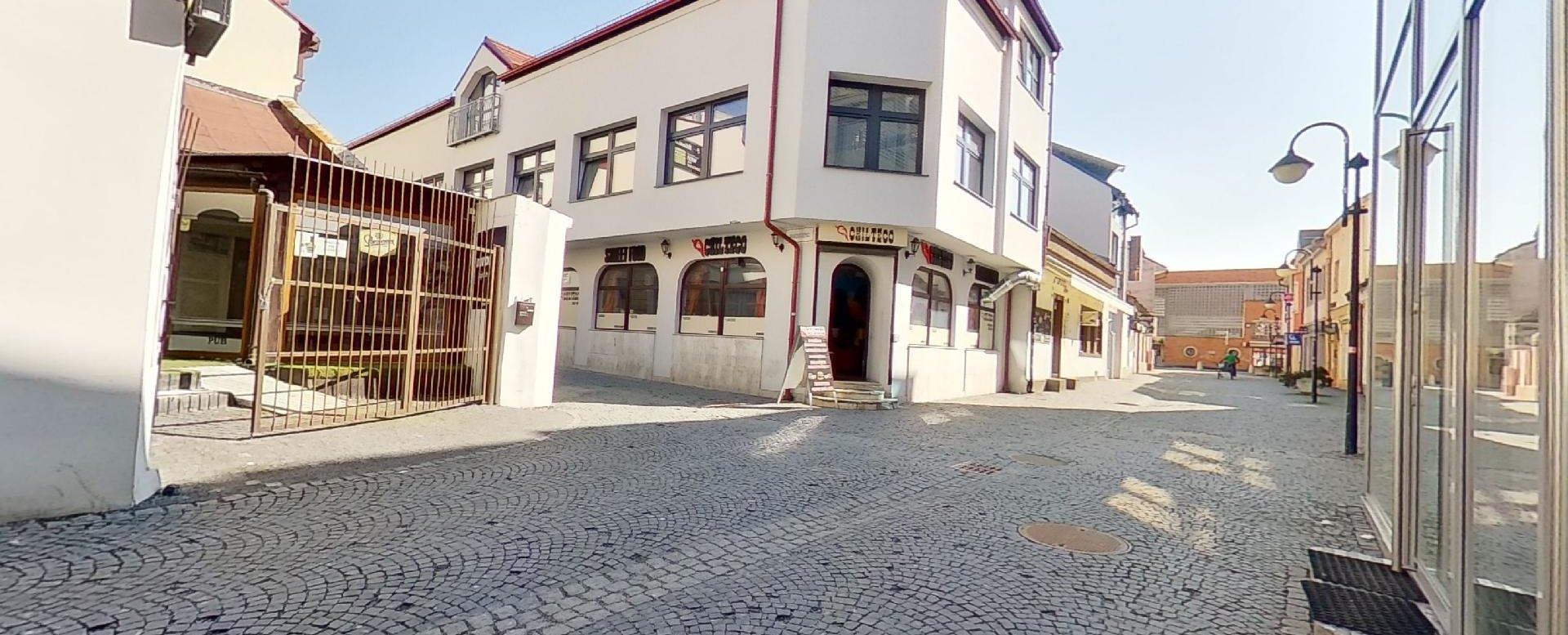 budova v historickom centre Žiliny