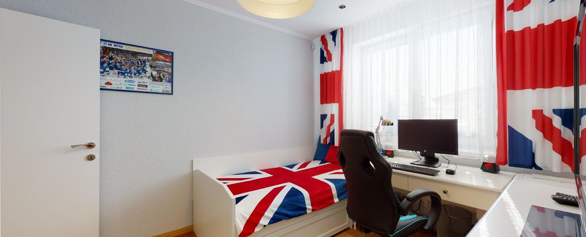 moderne zariadená detská izba