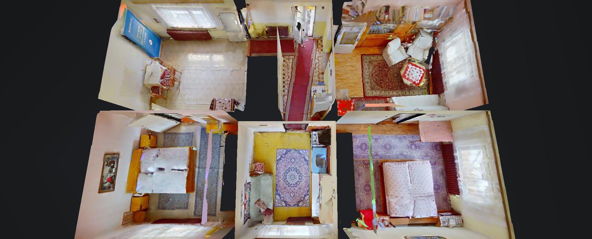 3D pôdorys rodinného domu v obci Čierne