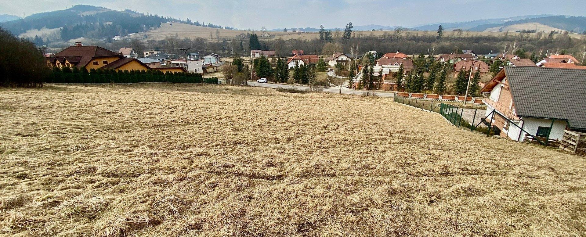 Pohľad do obce Raková