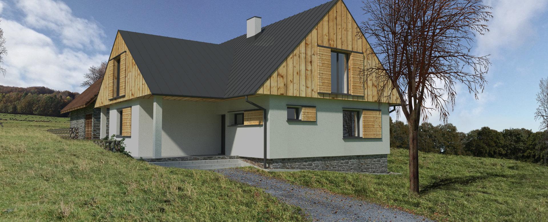Vizualizácia rodinného domu 6