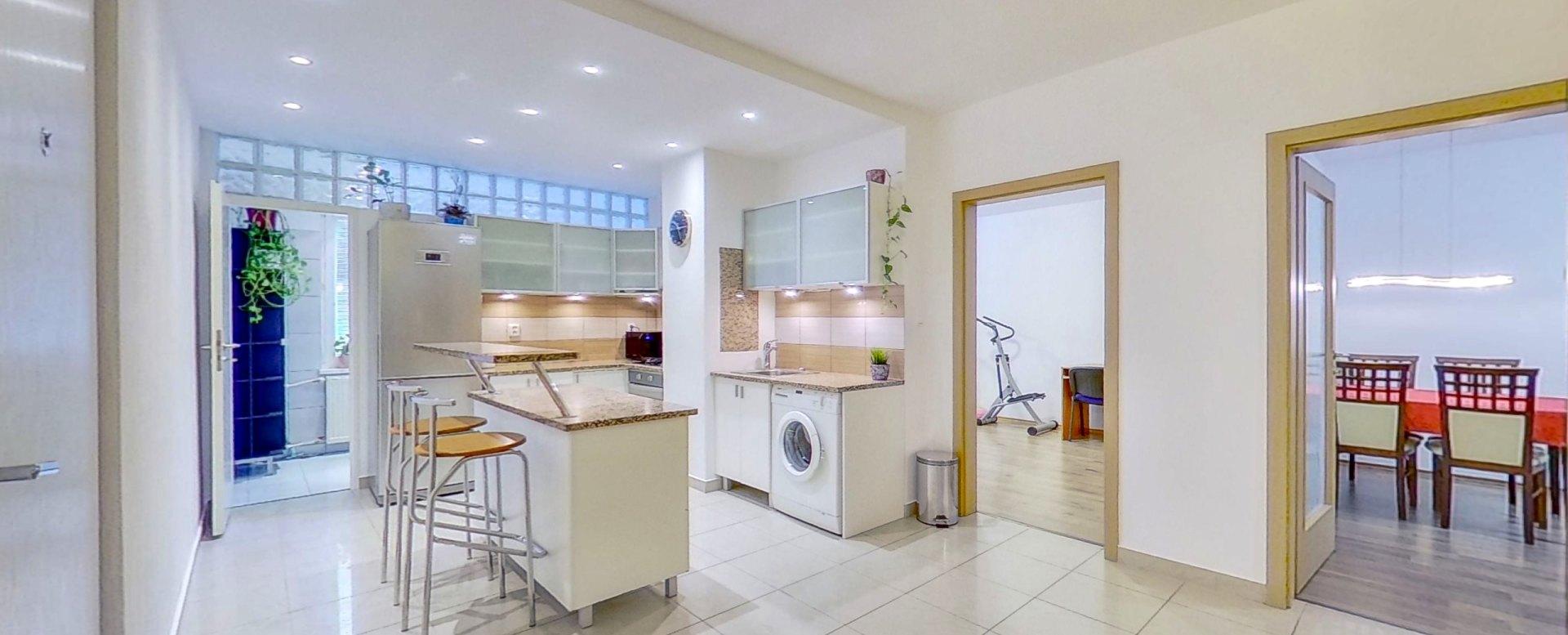 Pohľad na kuchyňu