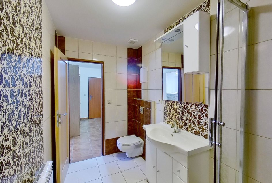 pohľad v kúpeľni