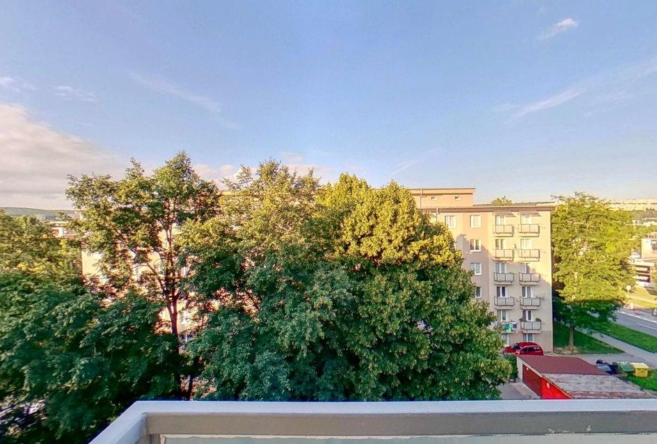Výhľad z balkóna 1