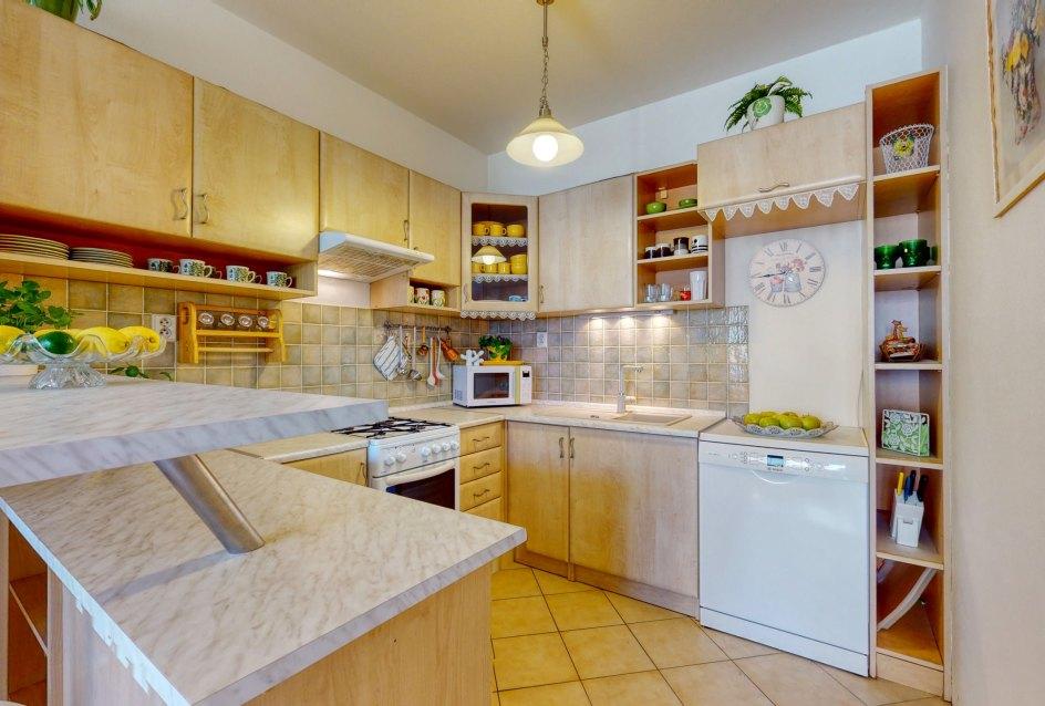 Praktická a priestranná kuchyňa