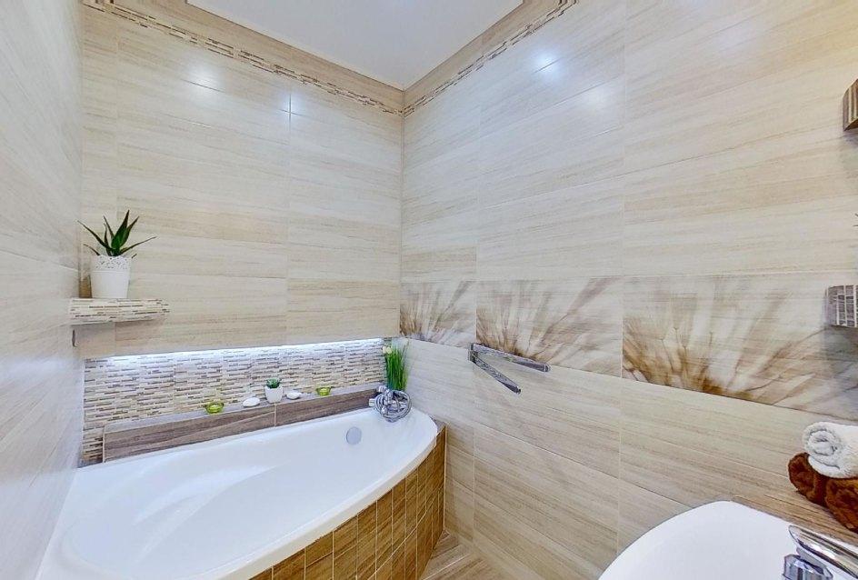 Moderná kúpeľňa v 2-izbovom byte na Školskej v Čadci