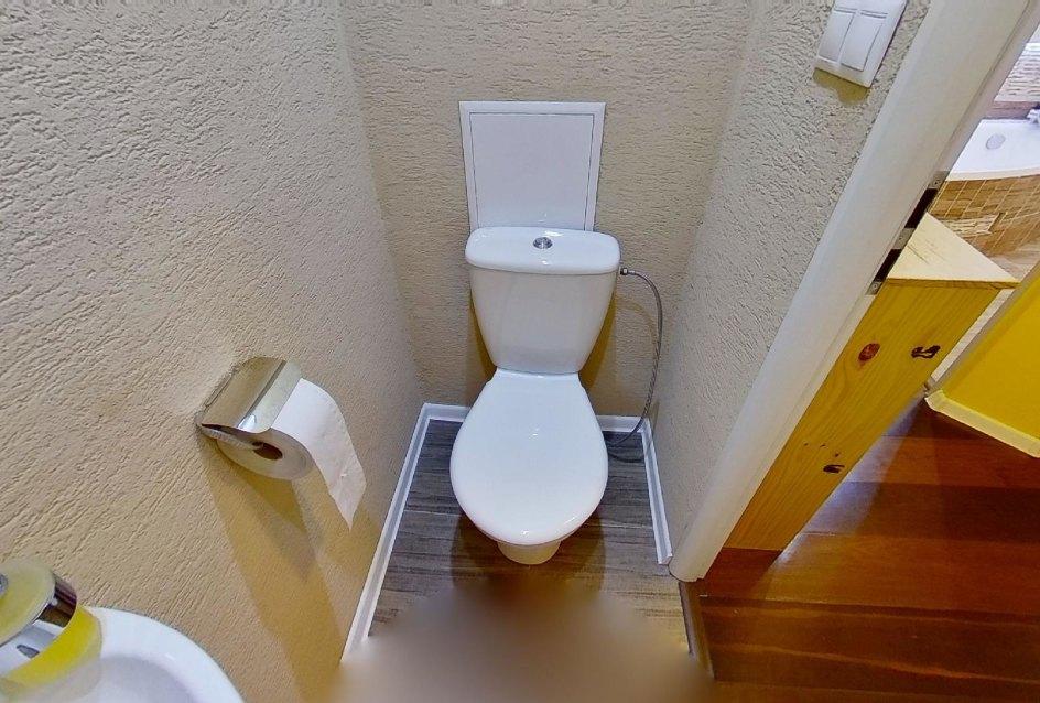 Toaleta (WC) v 2-izbovom byte na Školskej v Čadci