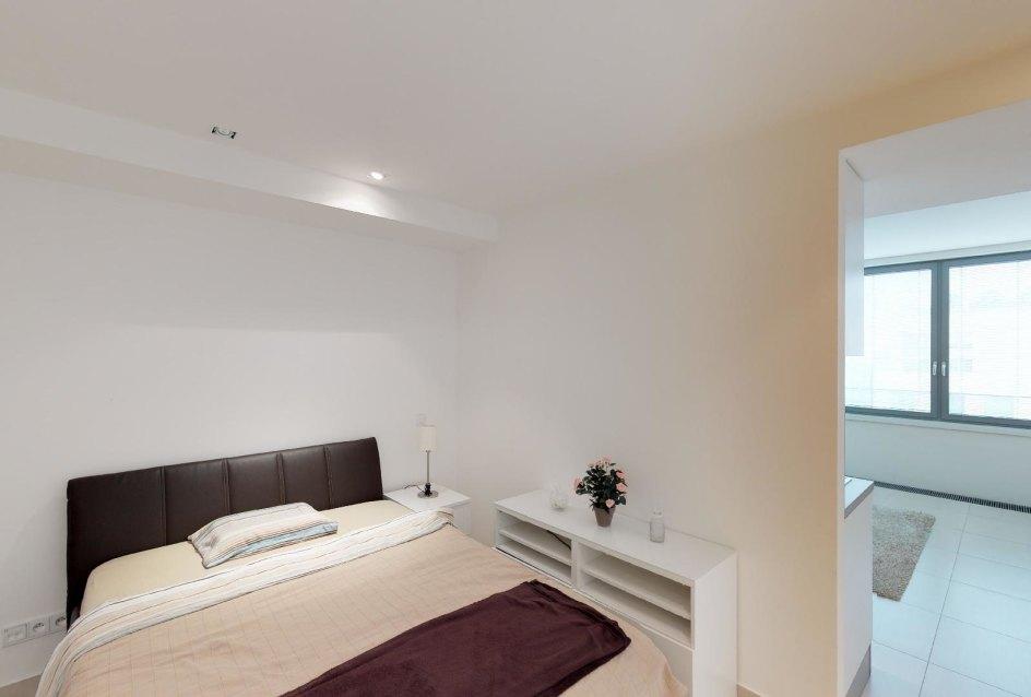 Spálňa a obývacia izba