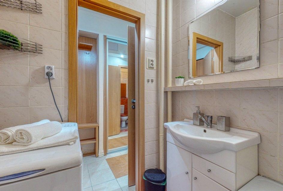 Pohľad z kúpeľne