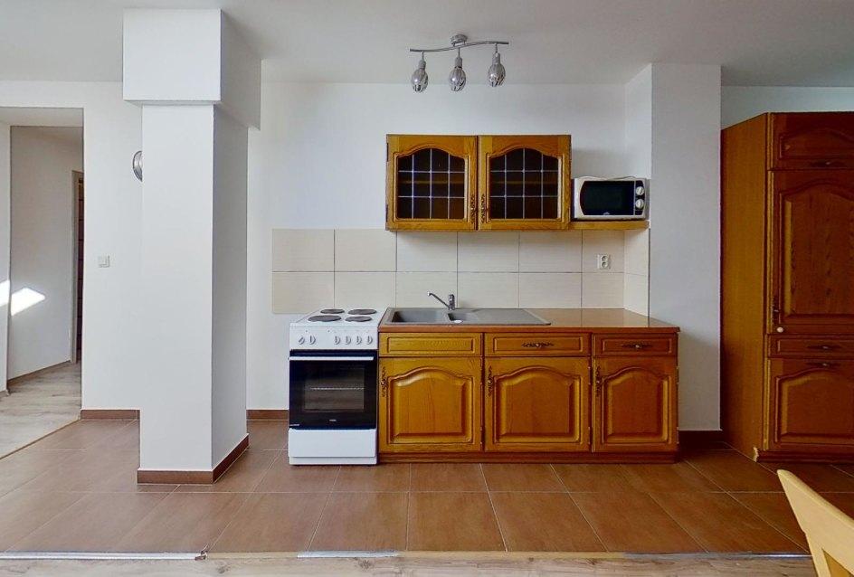 pohľad na kuchynský kút