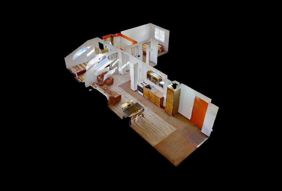 3D pohľad na byt