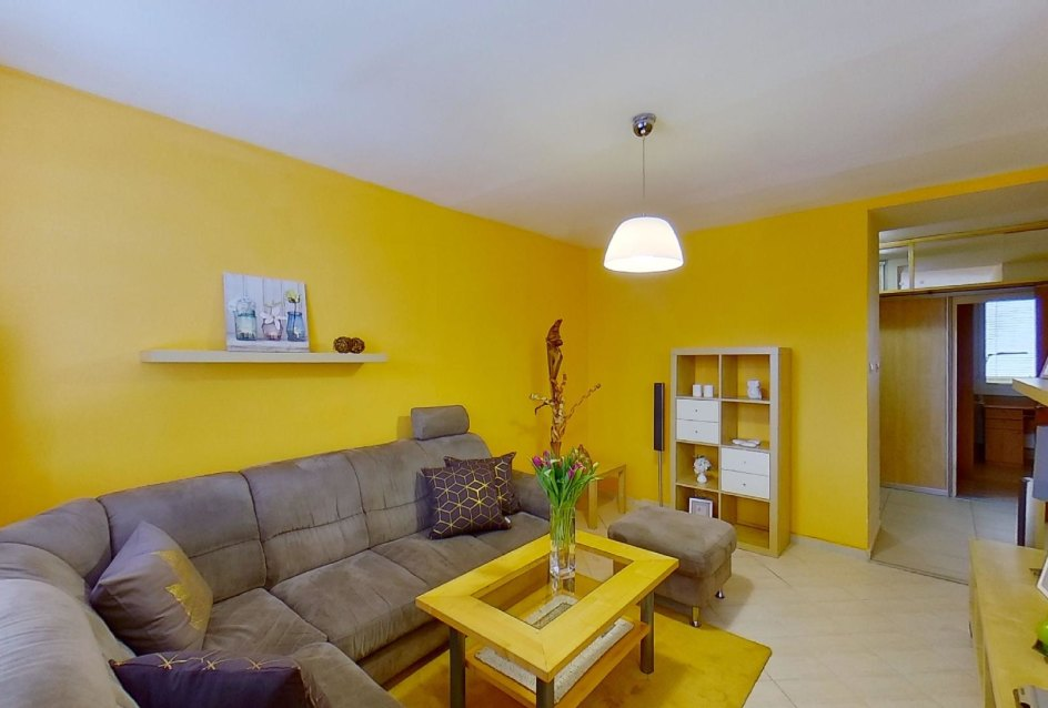 Obývacia izba v byte