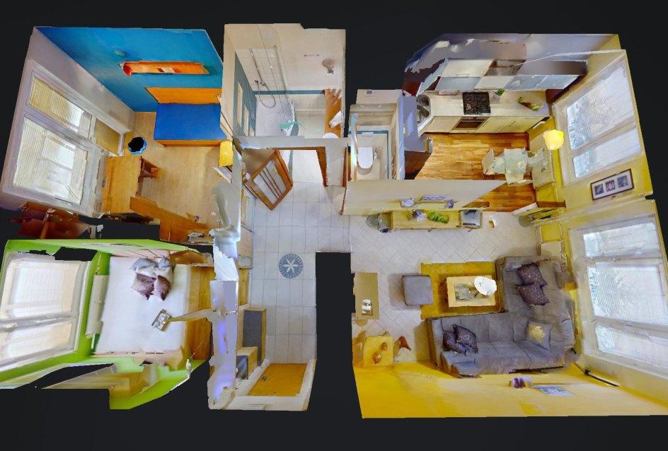 3D pôdorys bytu