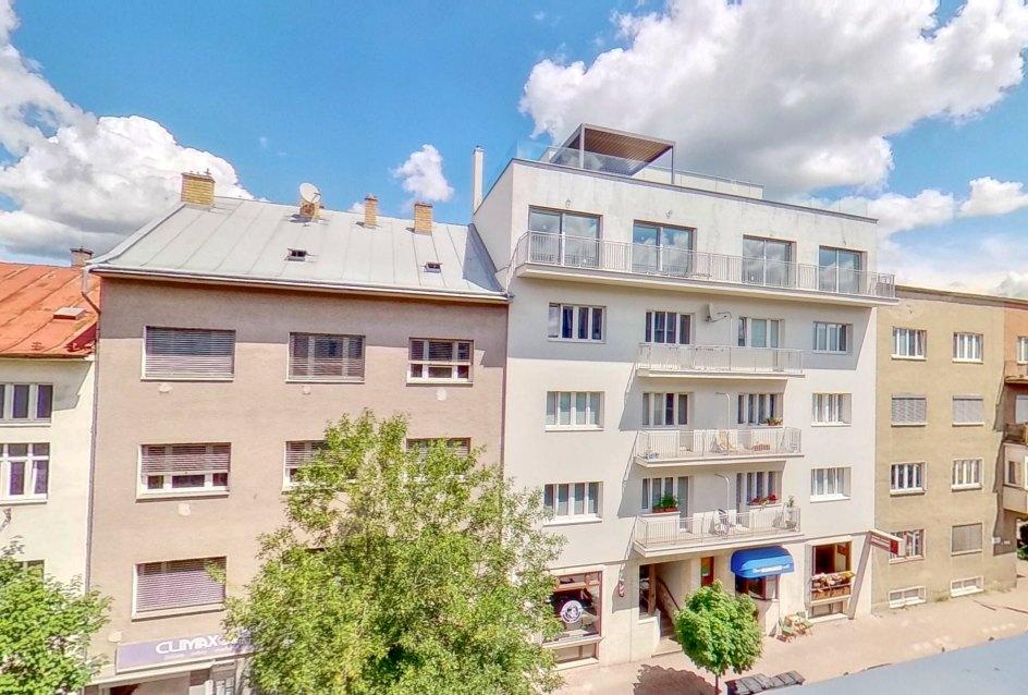 Výhľad z 3-izbového bytu na ulici M. R. Štefánika v Žiline
