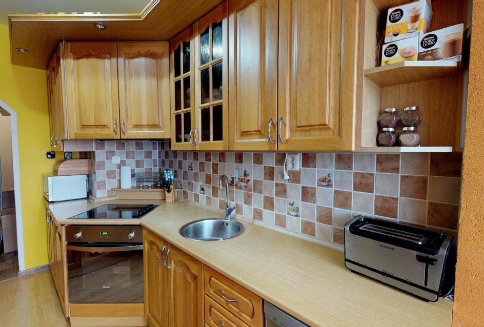 Kuchyňa 3-izbového bytu na Okružnej ulici v Čadci - Kyčerka