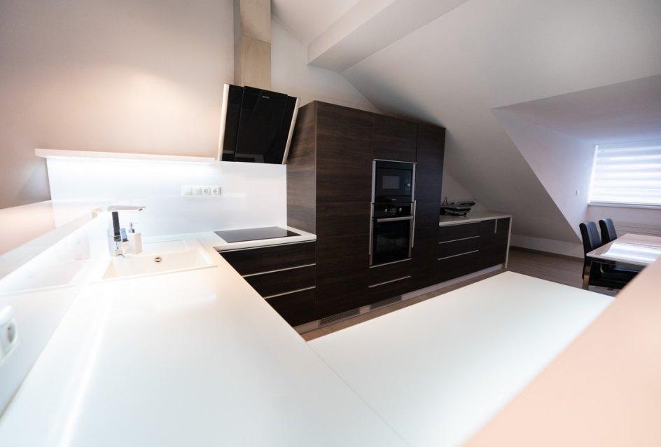 Kuchyňa v 3-izbovom byte na Botovej v Žiline