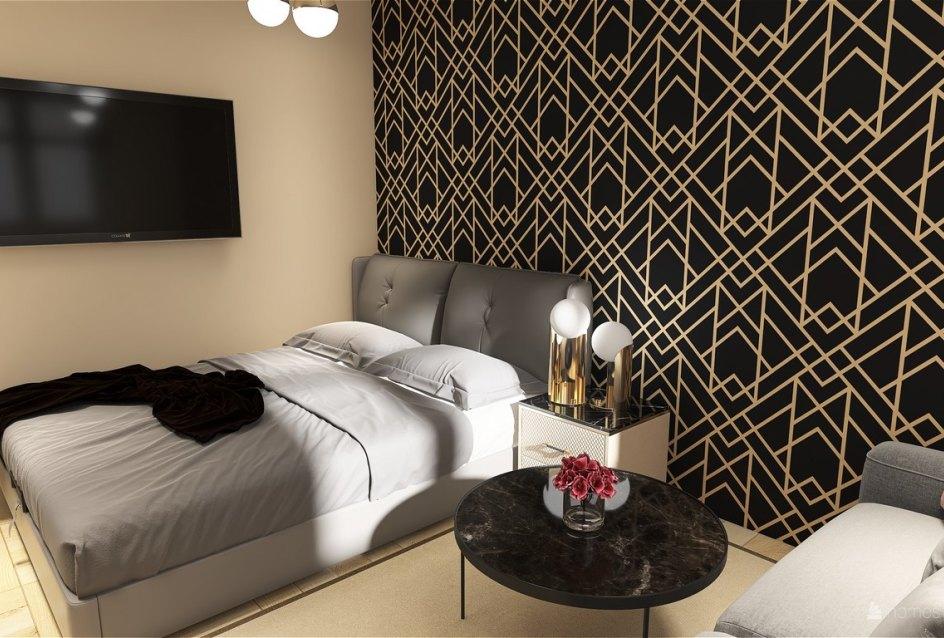 3D vizualizácia spálne
