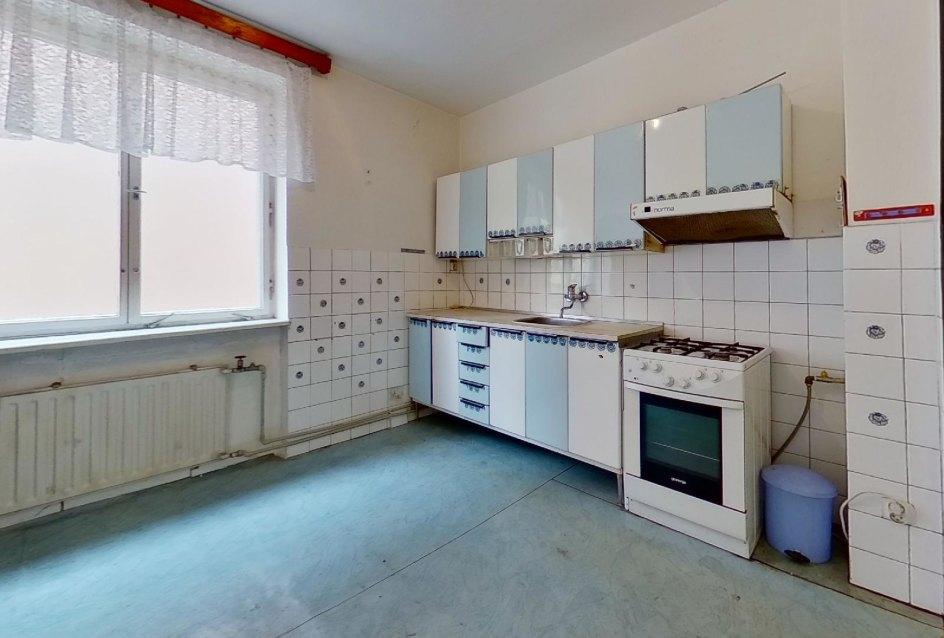 Kuchyňa v pôvodnom stave
