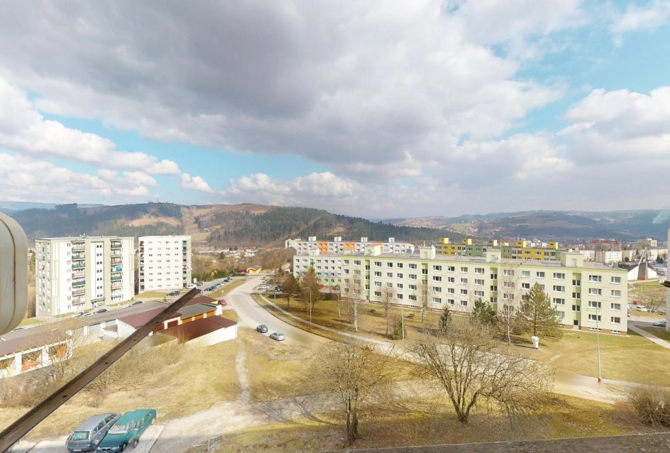 Výhľad z bytu