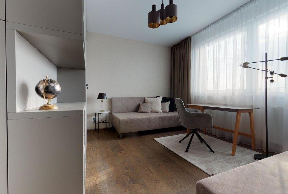 moderne zariadená izba