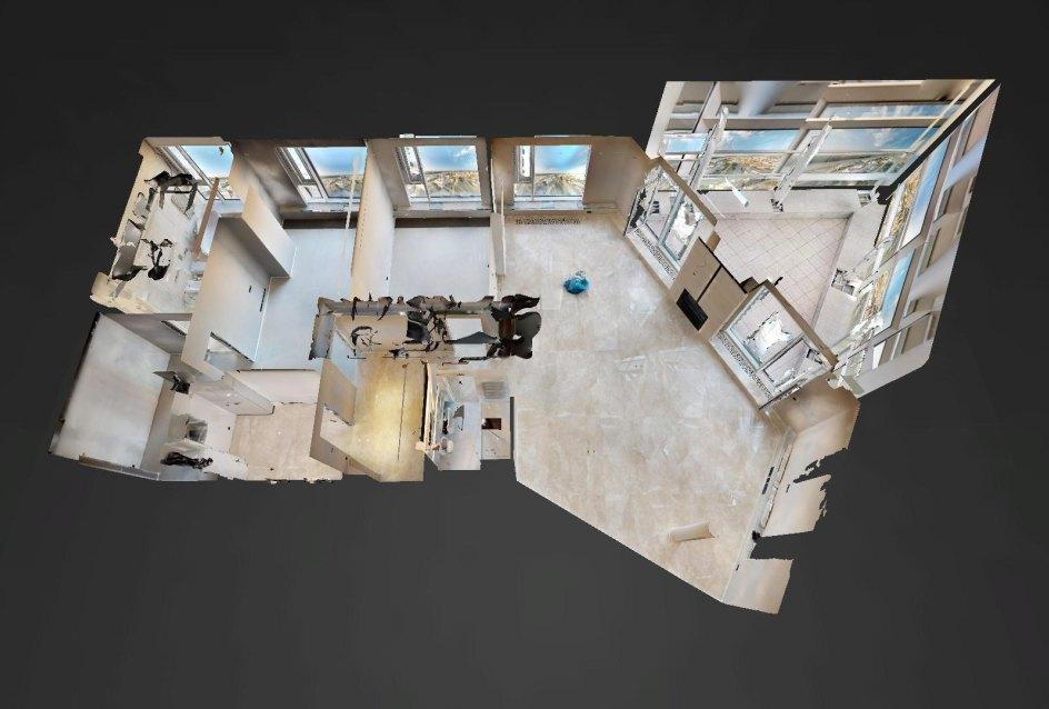 3D pôdory penthousu v Panorama Towers - Eurovea City