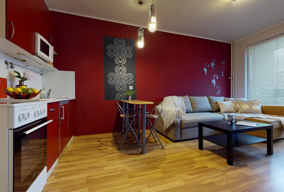 Kuchynský kút v 2-izbovom byte vo Vlčom hrdle