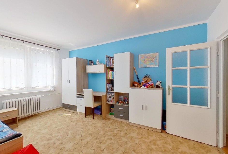 Nábytok v detskej izbe v 2-izbovom byte na Jašíkovej v Čadci