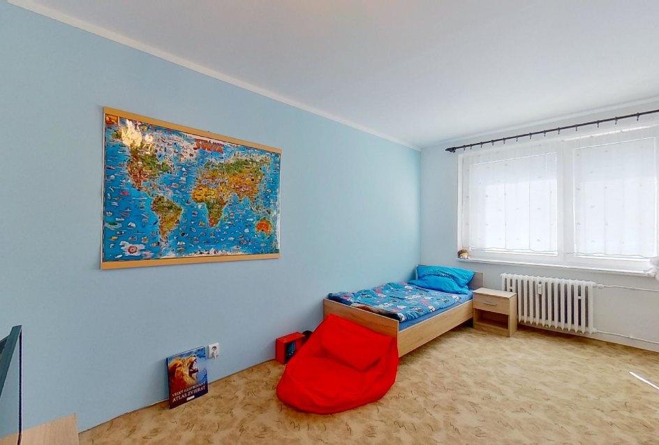 Detská izba v 2-izbovom byte na Jašíkovej v Čadci